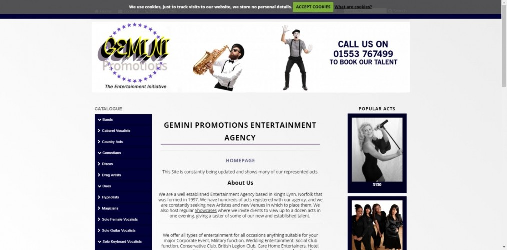 Gemini Promotions Entertainment Agency