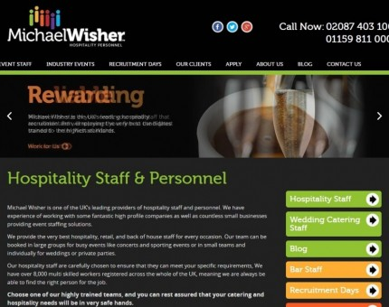 Michael Wisher Hospitality Personnel London