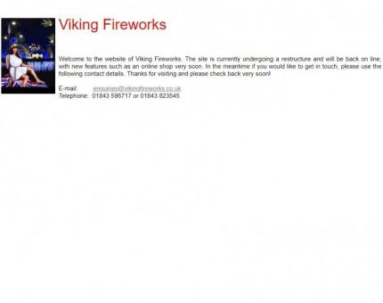 Viking Fireworks
