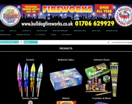 Bulldog Fireworks & Displays