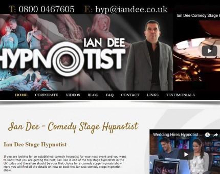 Ian Dee Comedy Stage Hypnotist
