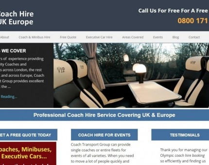 Coach Hire UK Europe Limited