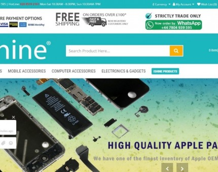iShine Trade I Shine (London) Ltd