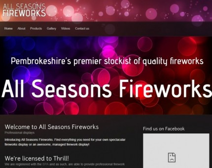 All Seasons Fireworks