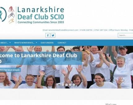 Lanarkshire Deaf Club SCIO