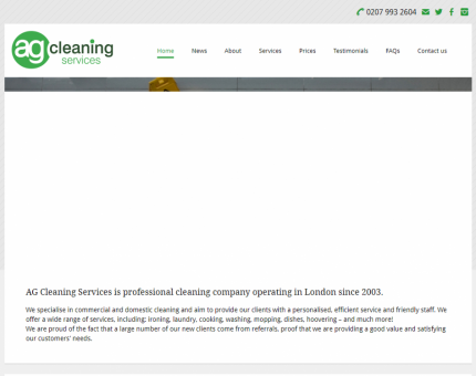 A.G. Cleaning Services