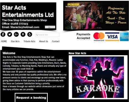 Star Acts Entertainments Ltd