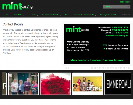 Mint Casting Agency Ltd