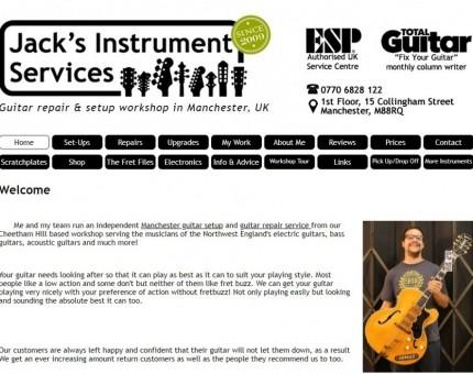 Jack's Instrument Services