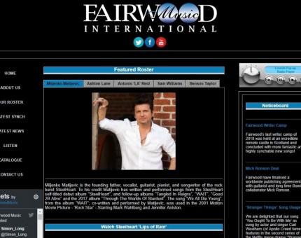 Fairwood Music (UK) Ltd.