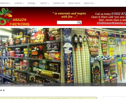 Dragon Fireworks Ltd