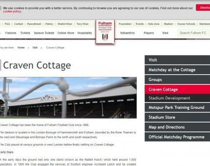 Craven Cottage