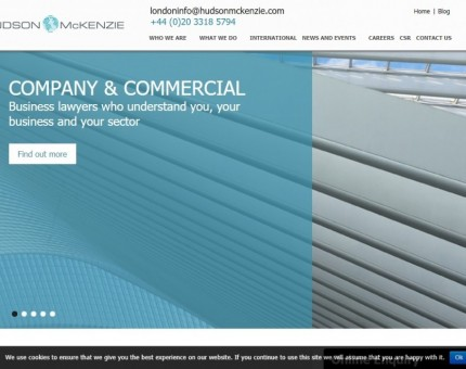 Commercial Law Firm in UK - Hudson McKenzie