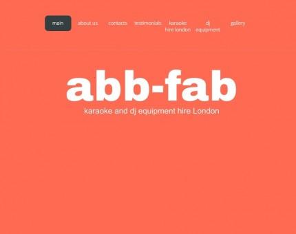 Abb-Fab Karaoke and DJ equipment Hire