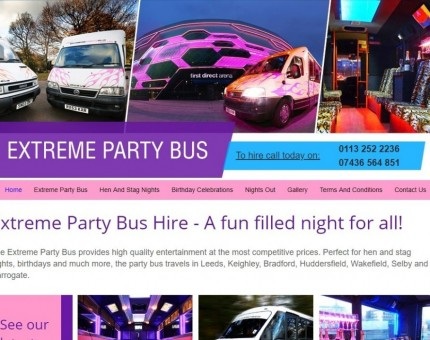 Extreme Party Bus