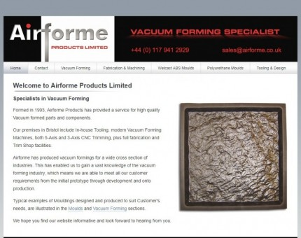 AIRFOMRE PRODUCTS LMITED