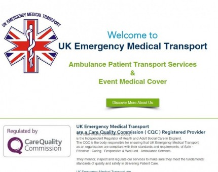UK Emergency Medical Transport - Ambulance Service & Event Medical Cover - Bolton