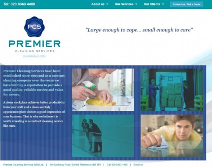 Premier Cleaning Services (UK) Ltd
