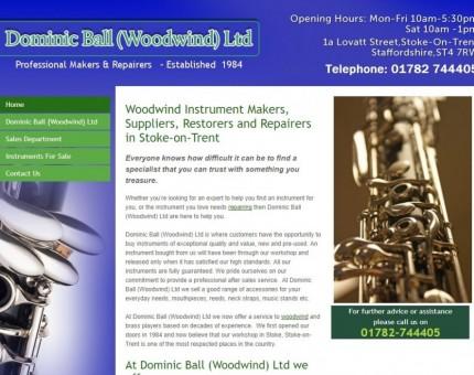 Dominic Ball (Woodwind) Ltd