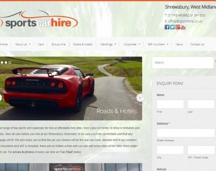 Sports Car Hire