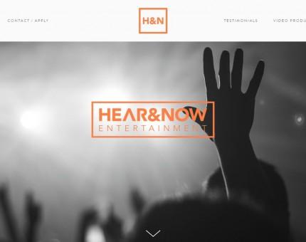 Hear & Now Entertainment