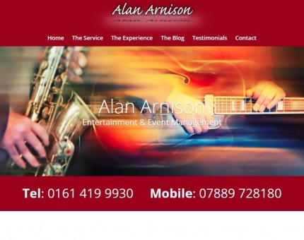 Alan Arnison Entertainment Consultancy