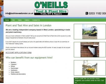 O'Neill Tool & Plant Hire