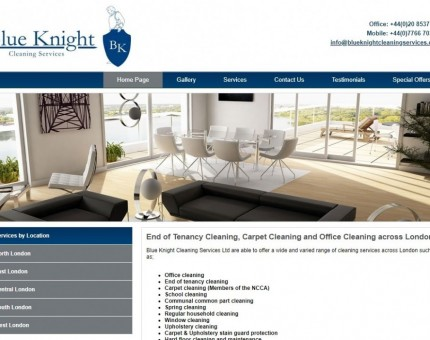 Blue Knight Cleaning Services Ltd
