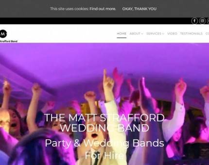 Matt Strafford Wedding Band Hire