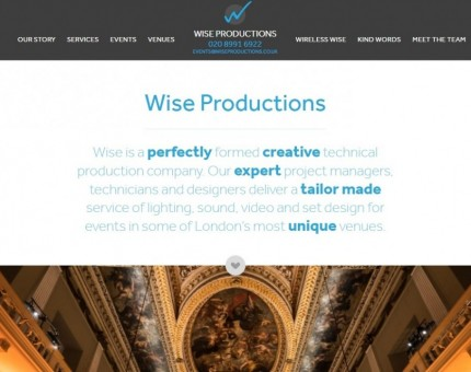 Wise Productions (UK) Ltd