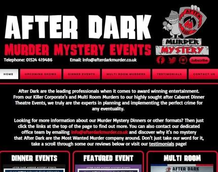After Dark Murder Mystery Events