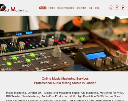 Red Mastering Studio