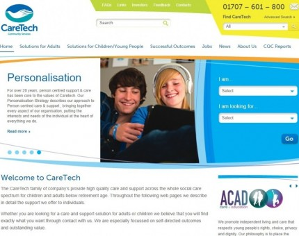 Caretech Community Services Ltd