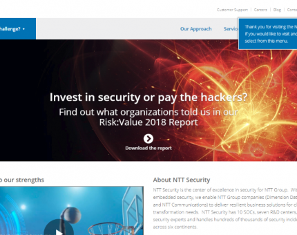 NTT Security (UK) Limited