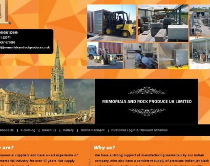 Memorials & Rock Produce UK Ltd