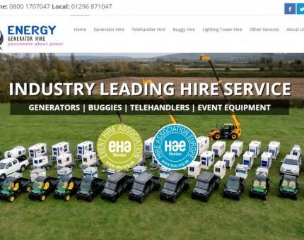 Energy Generator Hire Ltd