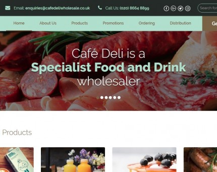 Cafe Deli Wholesale - London and Southeast