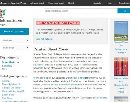 Spartan Press Music Publishers Ltd