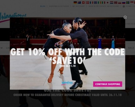International Dance Shoes Ltd