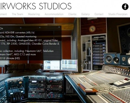 The Chairworks residential recording studio