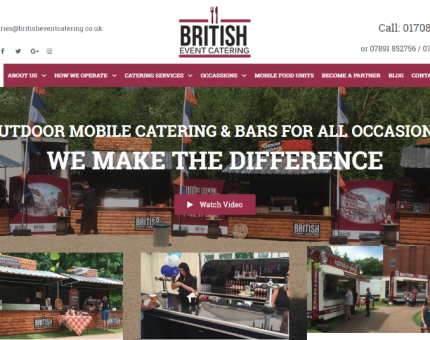 British Event Catering