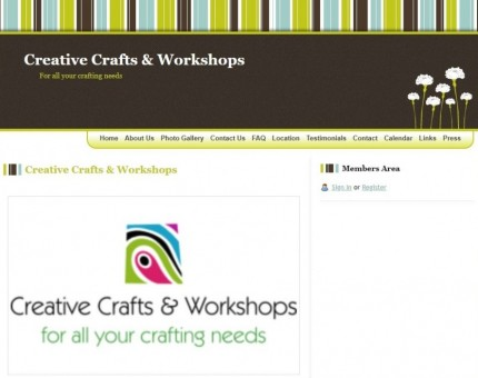 Creative Crafts & Workshops