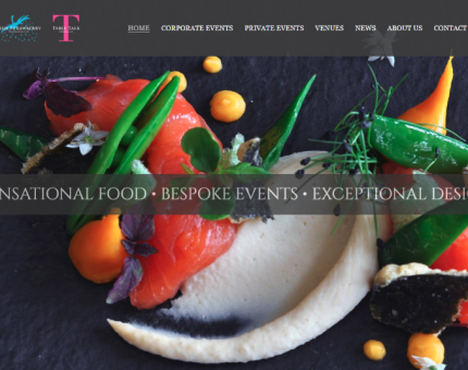 Blue Strawberry Event Caterers