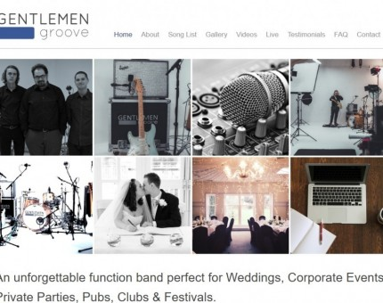 Gentlemen Groove An unforgettable function band perfect for Weddings, Corporate Events and Private Parties