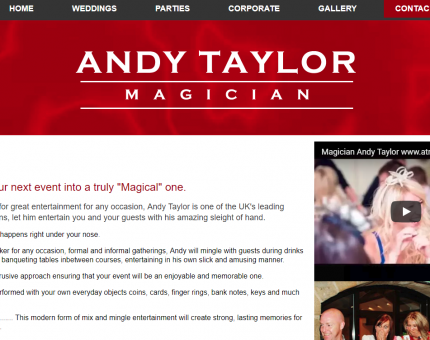 Andy Taylor Magician