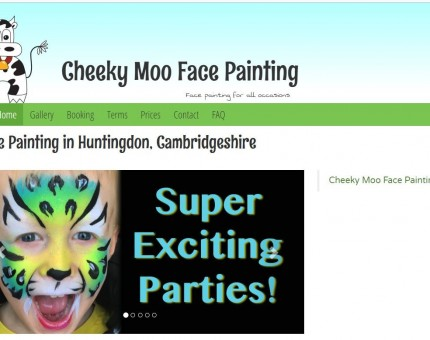 Cheeky Moo Face Painting