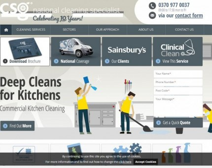 The Cleaning Services Group Ltd