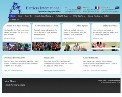 Barriers International Ltd.