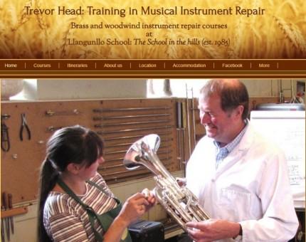 Trevor Head Training in Musical Instrument Repair