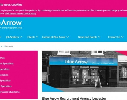 Blue Arrow Leicester